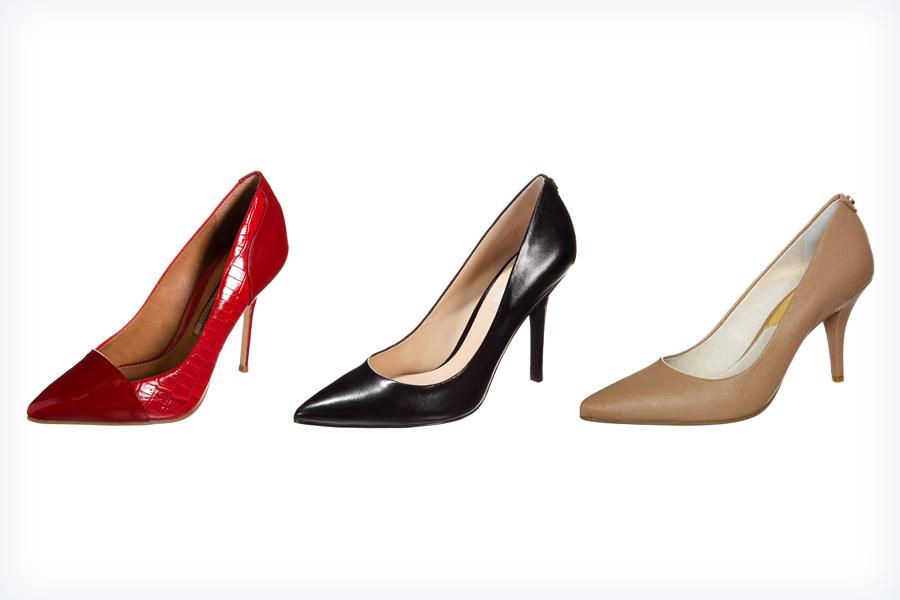 Damskie buty pasujące do koronkowej sukienki