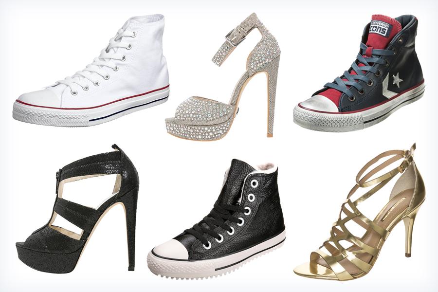 Damskie buty pasujące do spodenek