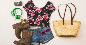 Codzienne ubranie na lato w stylu retro