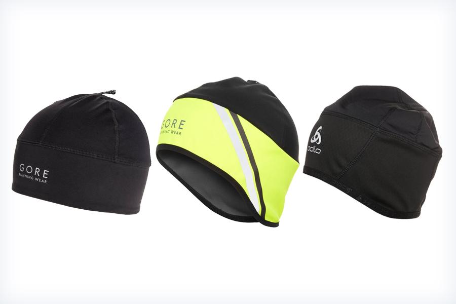 Markowe czapki do biegania