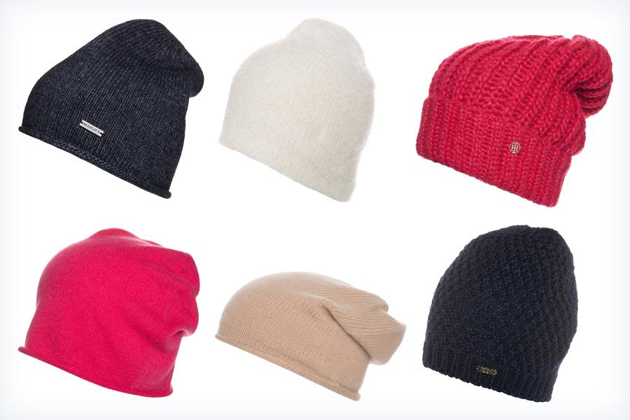 Modne czapki do czarnej kurtki