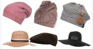 Modne czapki do kręconych włosów
