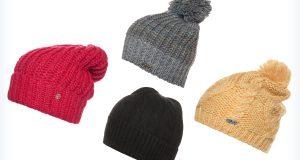 Młodzieżowe czapki do szarej kurtki