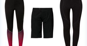 Sportowe spodnie na rower