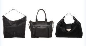 Markowe eleganckie czarne torebki hobo
