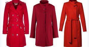 Markowe trzy czerwone płaszcze