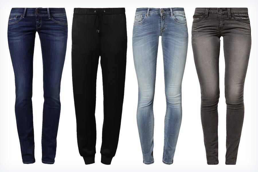 Modne spodnie do air maxów