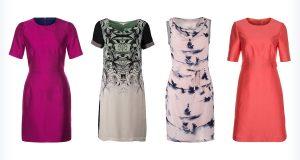 Markowe sukienki z jedwabiu