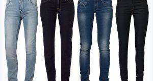 Modne damskie jeansy rurki