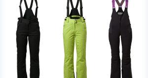 Sportowe damskie spodnie na narty