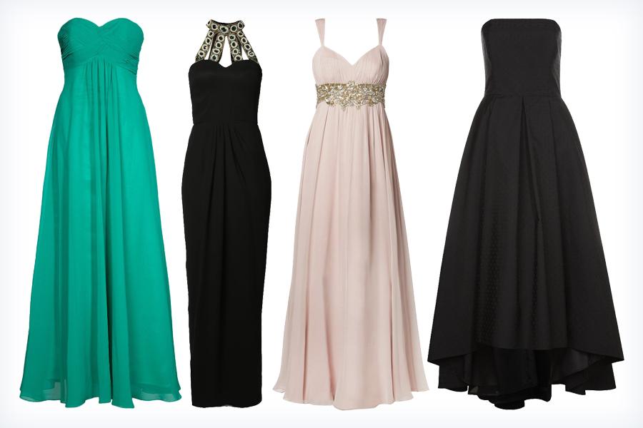 Piękne długie sukienki na sylwestra