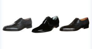 Męskie eleganckie buty do garnituru