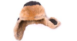 Zimowa futrzana czapka