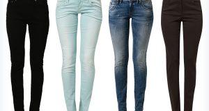 Markowe spodnie jeansowe slim fit