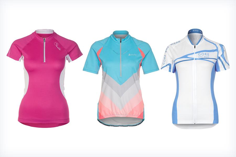 Sportowe koszulki na rower