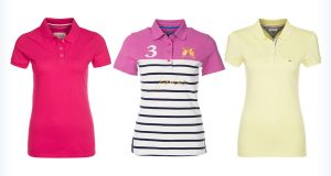 Kolorowe koszulki polo z krótkim rękawem