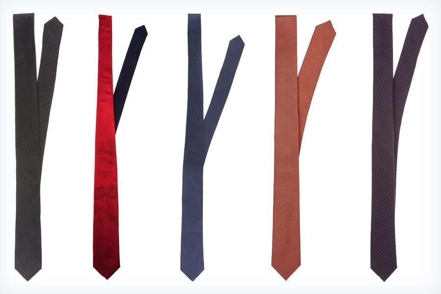 Męskie krawaty na studniówkę