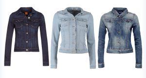 Damskie, krótkie kurtki jeansowe