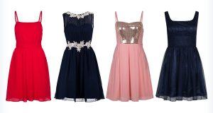 Krótkie, kolorowe sukienki na bal gimnazjalny