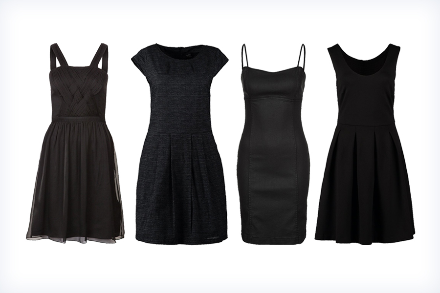 Letnie, małe czarne sukienki