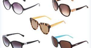 Kolorowe, markowe okulary przeciwsłoneczne