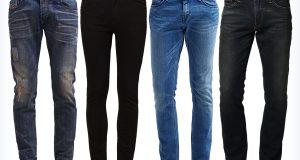 Spodnie rurki męskie