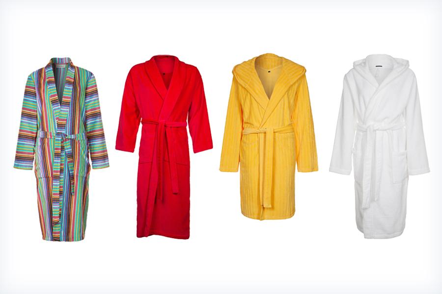 Wygodne kolorowe szlafroki dla kobiet