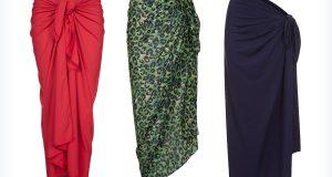 Długie, letnie sarongi dla kobiet