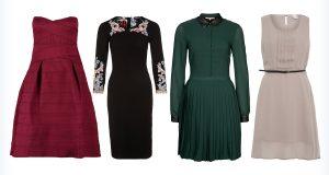 Cztery sukienki do kolan