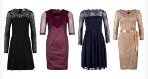 Cztery modne sukienki na Wigilię