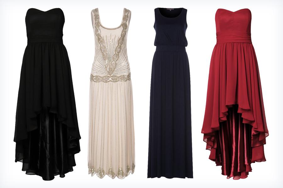 Szykowne modne suknie wieczorowe