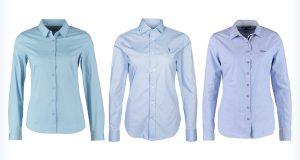 Trzy niebieskie koszule