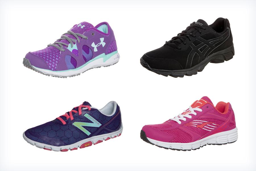 Wygodne damskie buty do biegania
