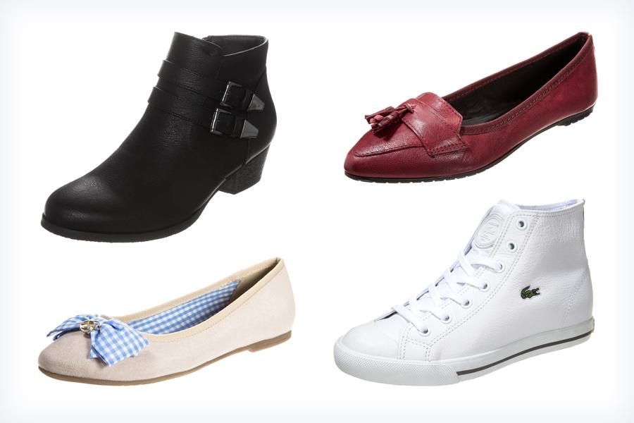 Damskie obuwie do niebieskich spodni