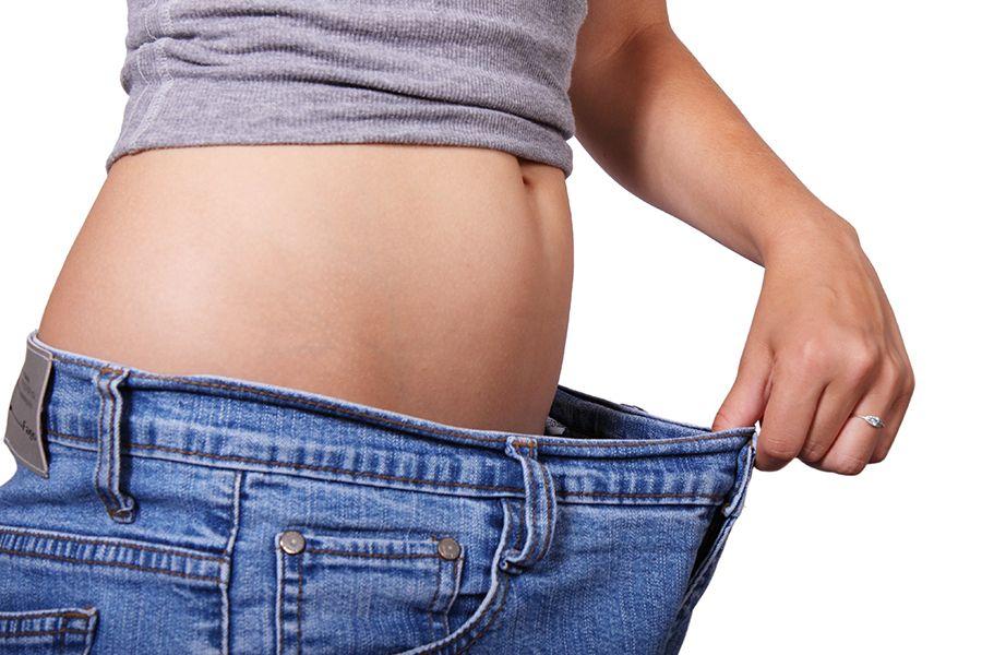 Odchudzanie - pozytywny efekt