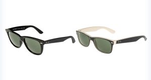 Markowe okulary przeciwsłoneczne - wayfarery