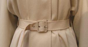 Beżowy płaszcz do sukni wieczorowej