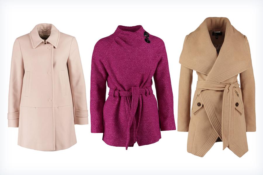 Kolorowe damskie płaszcze na jesień