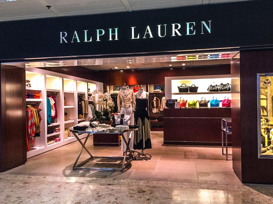 Sklep Ralph Lauren w Genewie