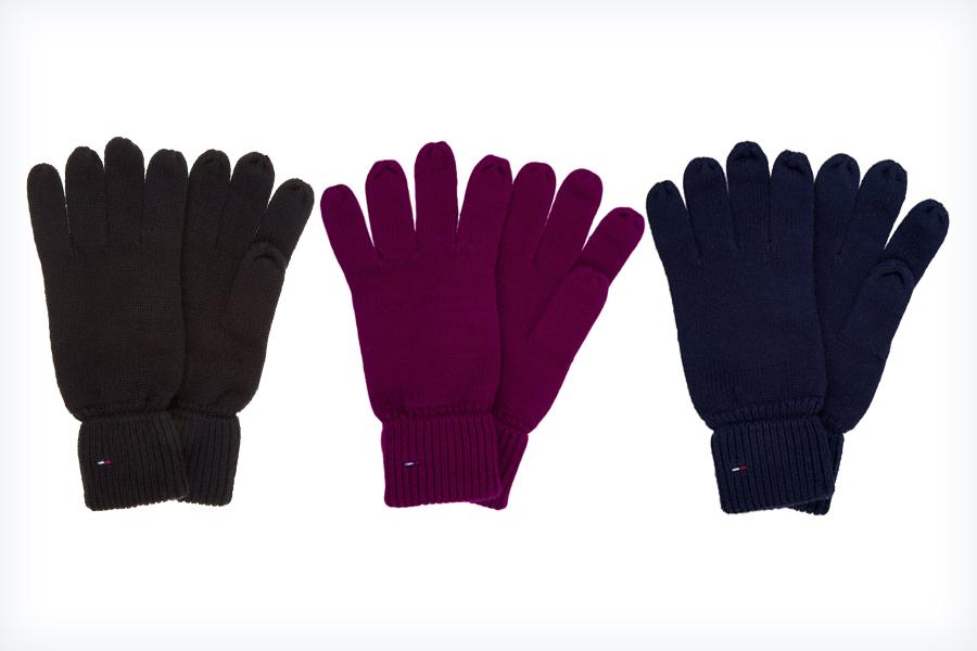 Damskie bawełniane rękawiczki