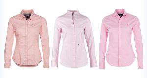Markowe różowe koszule