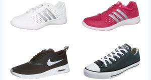 Damskie sportowe buty do dresów