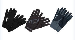 Czarne rękawiczki na słownie
