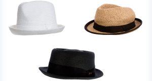 Wygodne stylowe kapelusze męskie