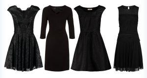 Damskie, stylowe małe czarne sukienki
