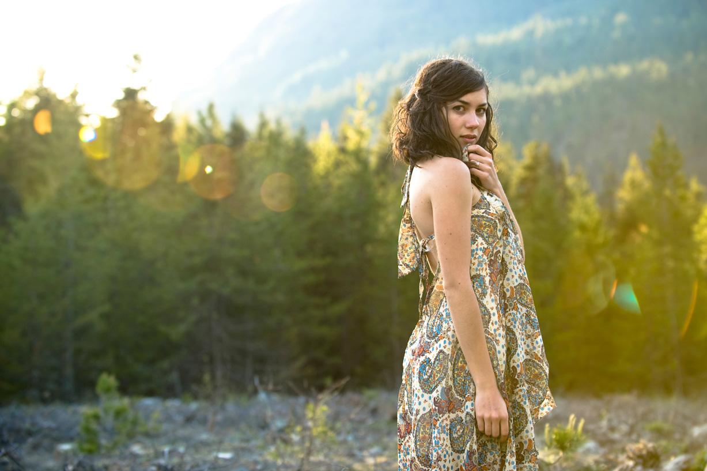 Sukienka w stylu hippie