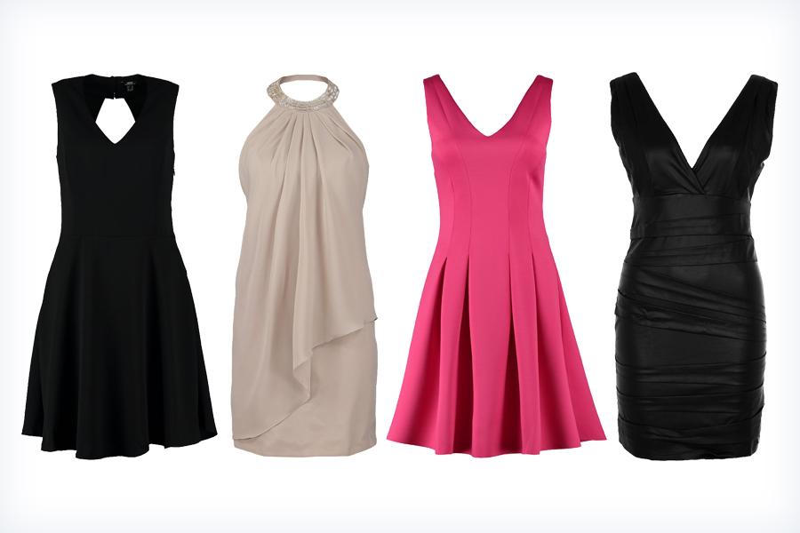 Modne sukienki bez pleców
