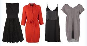 Kolorowe sukienki dla niskiej
