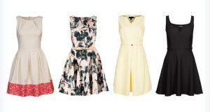 Letnie, kolorowe sukienki kopertowe