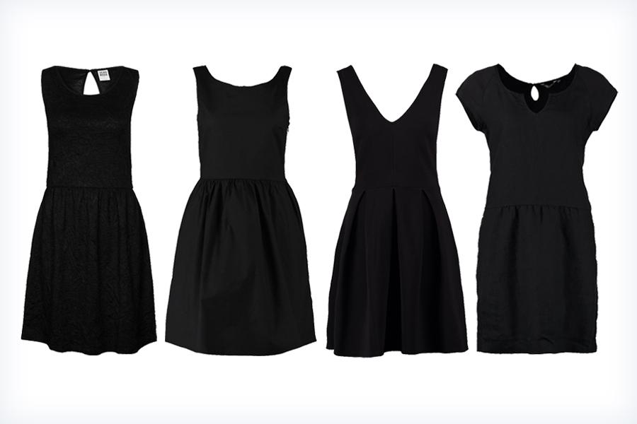 Eleganckie, małe czarne sukienki